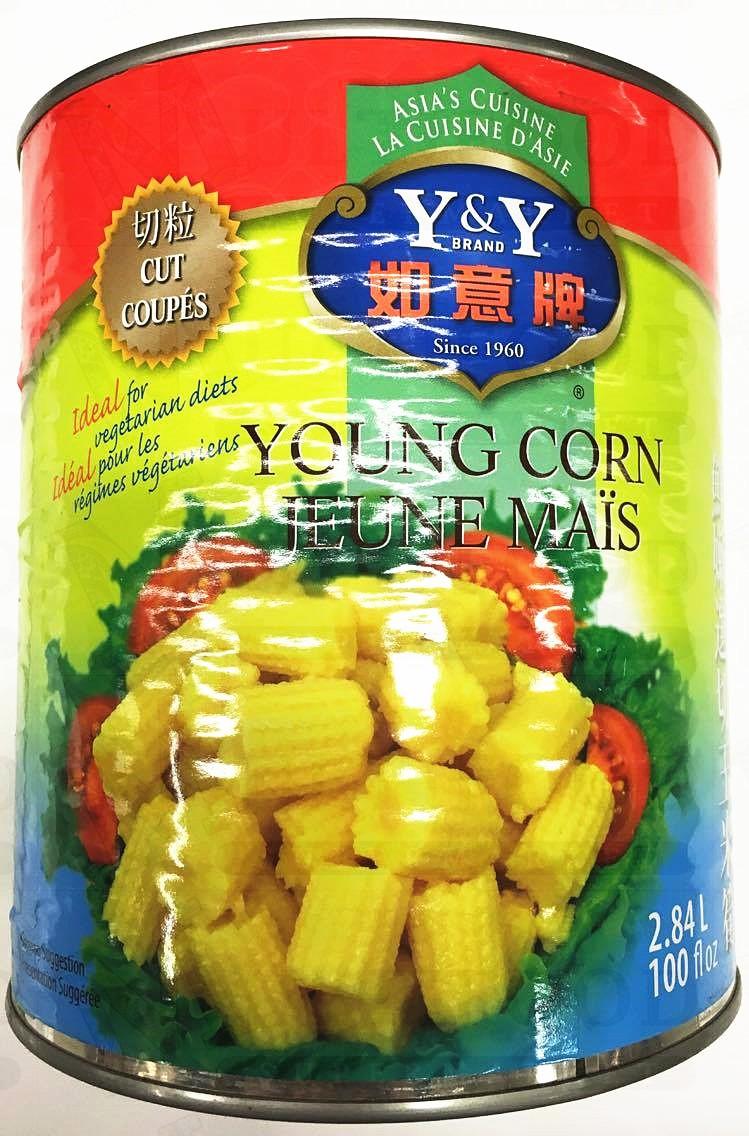 Young Corn 如意牌鲜嫩切段玉米段 2.84X6