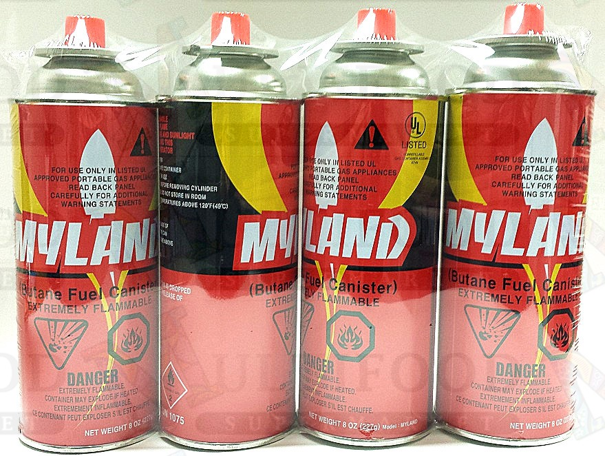 MYLAND BUTANCE FUEL CANISTER 燃气罐 220gx4