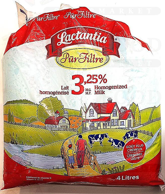 LACTANTIA 3.25% HOMOGENIZED MILK