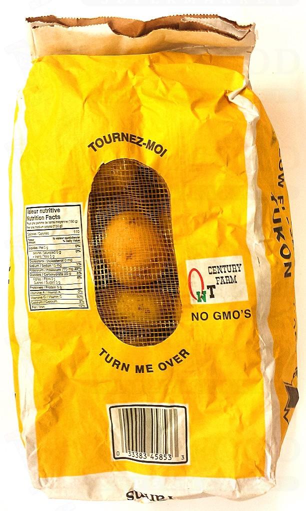 YELLOW  POTATO 黄马铃薯 10 LB EACH BAG