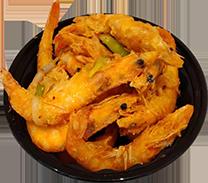 Pepper Salt Shrimp