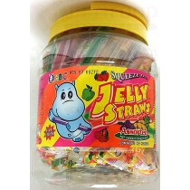 ABC JELLY STRAWS ASSORTED