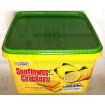 SUNFLOWER CRACKERS LEMON FLAVOR CREAM SANDWICH 向日葵牌饼干柠檬味夹心 800g