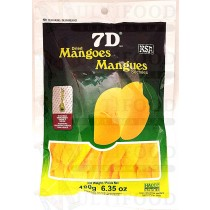 7 D DRIED MANGOES180g