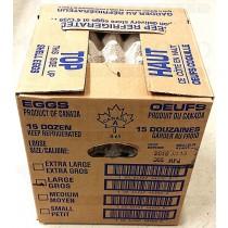 EGGS 15DOZEN 鸡蛋 15打(EXTRA LARGE)