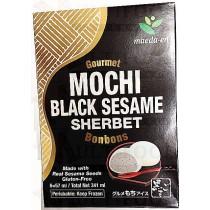 MOCHI BLACK SESAME SHERBET