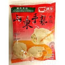 CHICKEN AND VEGETABLE DUMPLINGS 鸡肉香菇