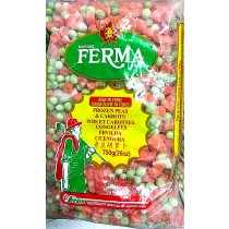 MARQUE FERMA BRAND FROZEN PEAS & CARROTS 青豆胡萝卜12BAGS
