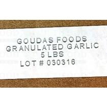 Garlic Powder 蒜粉 5LB