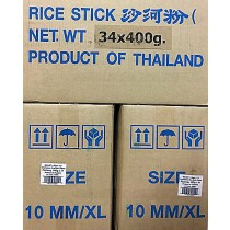 RICE STICK THAILAND 10MM 400GX34 沙河粉