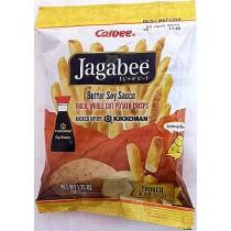 JAGABEE BUTTER SOY SAUCE THICK,WHOLE CUT POTATO CRISPS