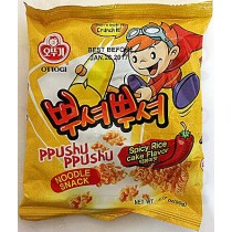 PPUSHU SPICY RICE CAKE FLAVOR NOODLE SNACK