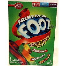 FRUIT BY THE FOOT 3 FLAVOURS