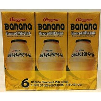 BINGGRAE BANANA FLAVORED MILK DRINK 200mlx6