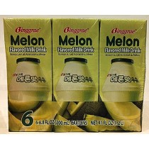 BINGGRAE MELON FLAVORED MILK DRINK 200mlx6