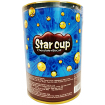 Star Cup Chocolate+Bisuit 20gx50pcs