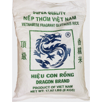 DRAGON GLUTINOUS RICE 越南顶级香糯米 8kg
