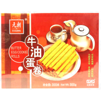 BUTTER EGG COOKIE ROLLS 牛油蛋卷 300G