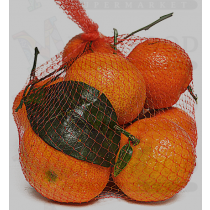 TANGERINE WITH LEAVES /LB