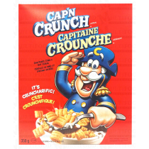 CAPITAINE CROUNCHE SWEET CORN&OAT CEREAL 350G