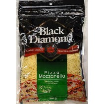 BLACK DIAMOND PIZZA MOZZAARELLA SHREDDED CHEESES