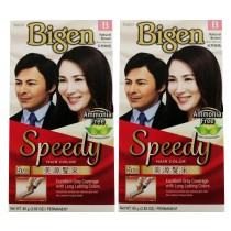 Bigen Natural  Brown 80gx2